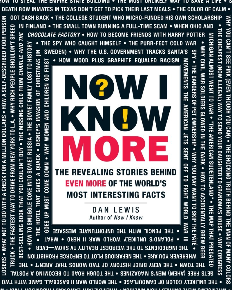 Now I Know More Book Cover