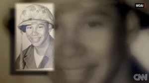 George as a Marine